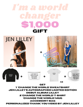 "Load image into Gallery viewer, ""I'm a world changer"" GIFT $1000"
