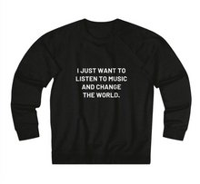 Load image into Gallery viewer, Jen Lilley #VoicesThatGive Sweatshirt- Black