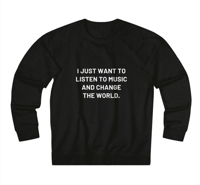 Jen Lilley #VoicesThatGive Sweatshirt- Black