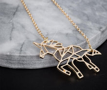 Load image into Gallery viewer, Free Unicorn Necklace (Gold or Silver)