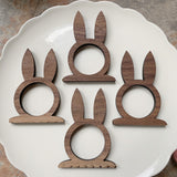 Bunny Napkin Rings - flawed