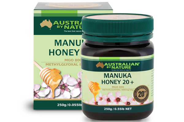 <p>Australian By Nature Manuka Honey 20+ 250g (MGO 800)</p> <p>$138</p>