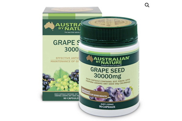 <p>Grape Seed 90 Capsules (30000mg)</p> <p>$37.60</p>