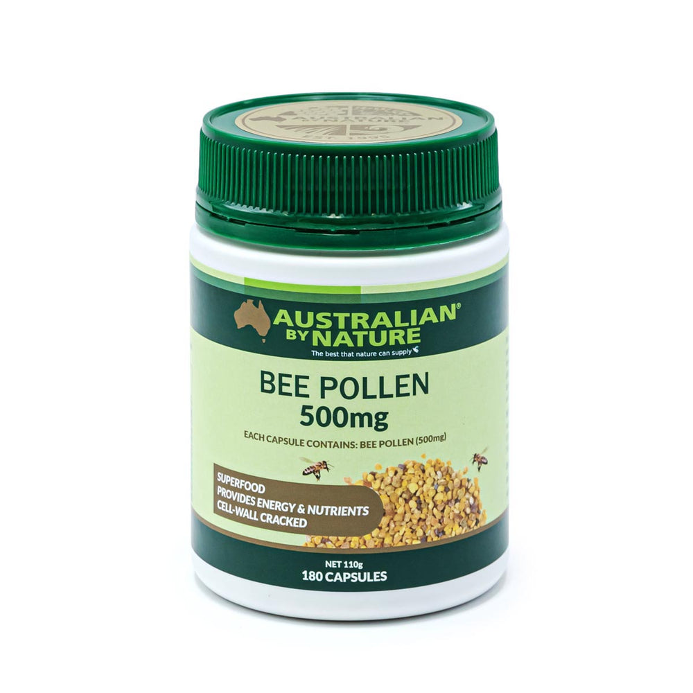 BEE POLLEN 180 CAPSULES (500g) - MEDES Lifestyle®