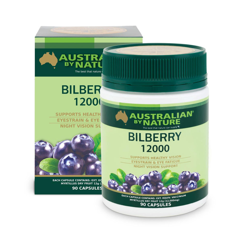 BILBERRY 90 CAPSULES (12000mg) - MEDES Lifestyle®