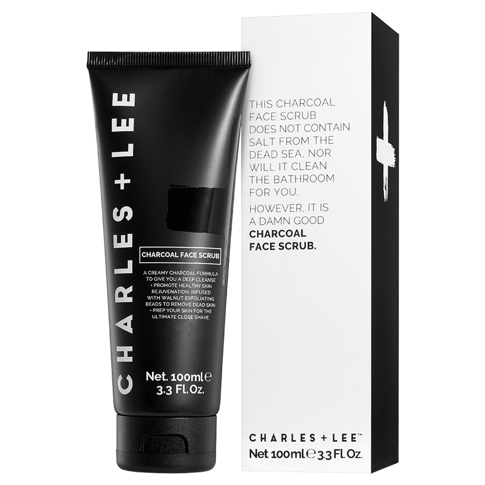 CHARCOAL FACE SCRUB 100ml - MEDES Lifestyle®