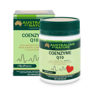 COENZYME Q10 90 CAPSULES + BioPerine® (150mg) - MEDES Lifestyle®