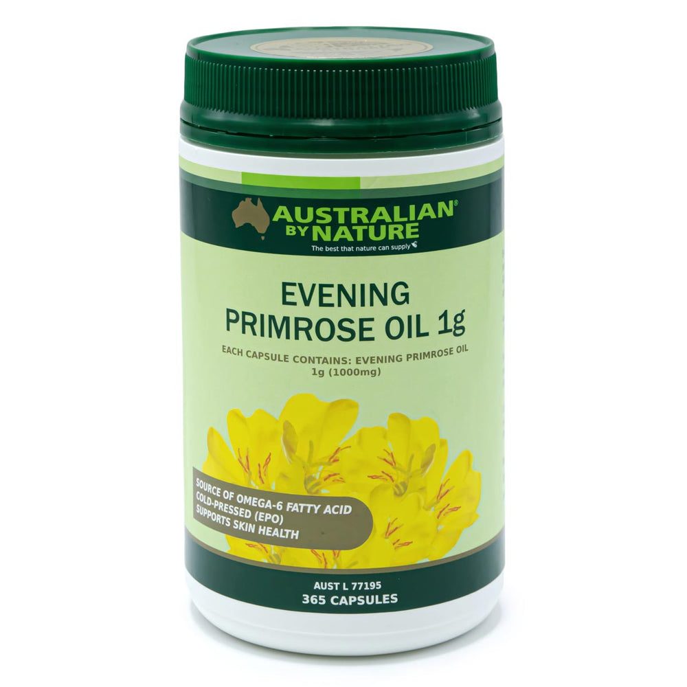 EVENING PRIMROSE OIL 365 CAPSULES 1g (1000mg) - MEDES Lifestyle®