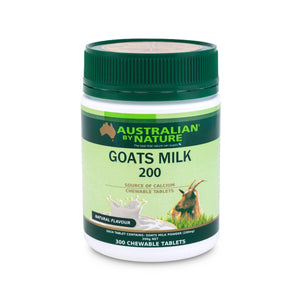 GOATS MILK 300 TABLETS - NATURAL FLAVOUR (200mg) - MEDES Lifestyle®