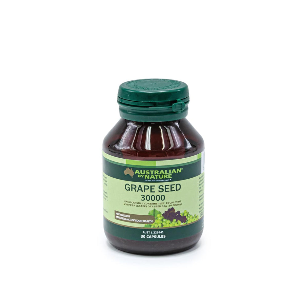 GRAPE SEED 30 CAPSULES (30000mg) - MEDES Lifestyle®