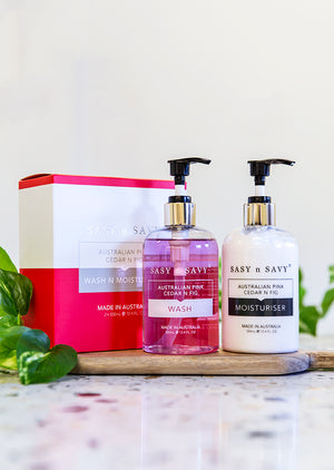 AUSTRALIAN FIG AND CEDAR WASH AND MOISTURISER PACK - MEDES Lifestyle