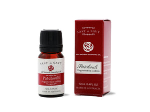 PATCHOULI (Pogostemon Cablin) 100% PURE ESSENTIAL OIL 12ML - MEDES Lifestyle®