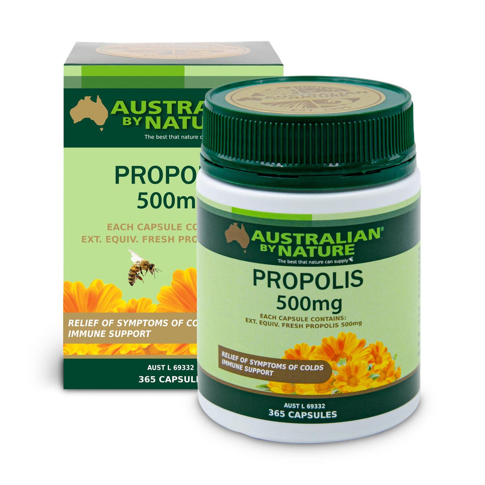 PROPOLIS 365 CAPSULES (500mg) - MEDES Lifestyle®