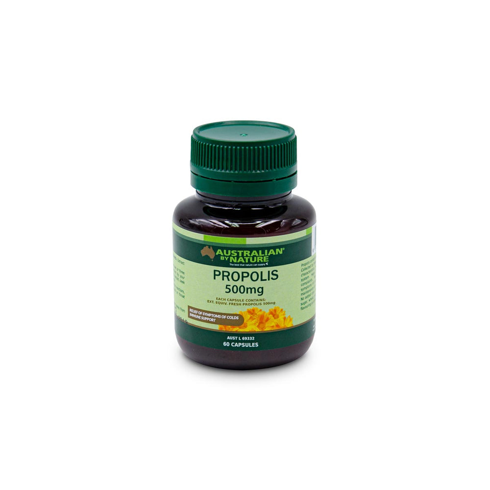 PROPOLIS 60 CAPSULES (500mg) - MEDES Lifestyle