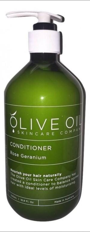 ROSE GERANIUM CONDITIONER 500ml - MEDES Lifestyle