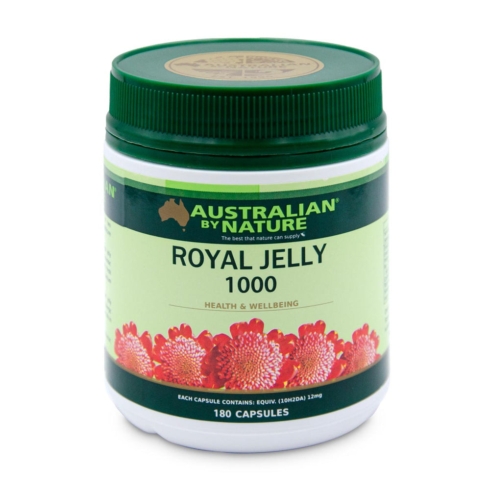 ROYAL JELLY 180 CAPSULES (1000mg) - MEDES Lifestyle