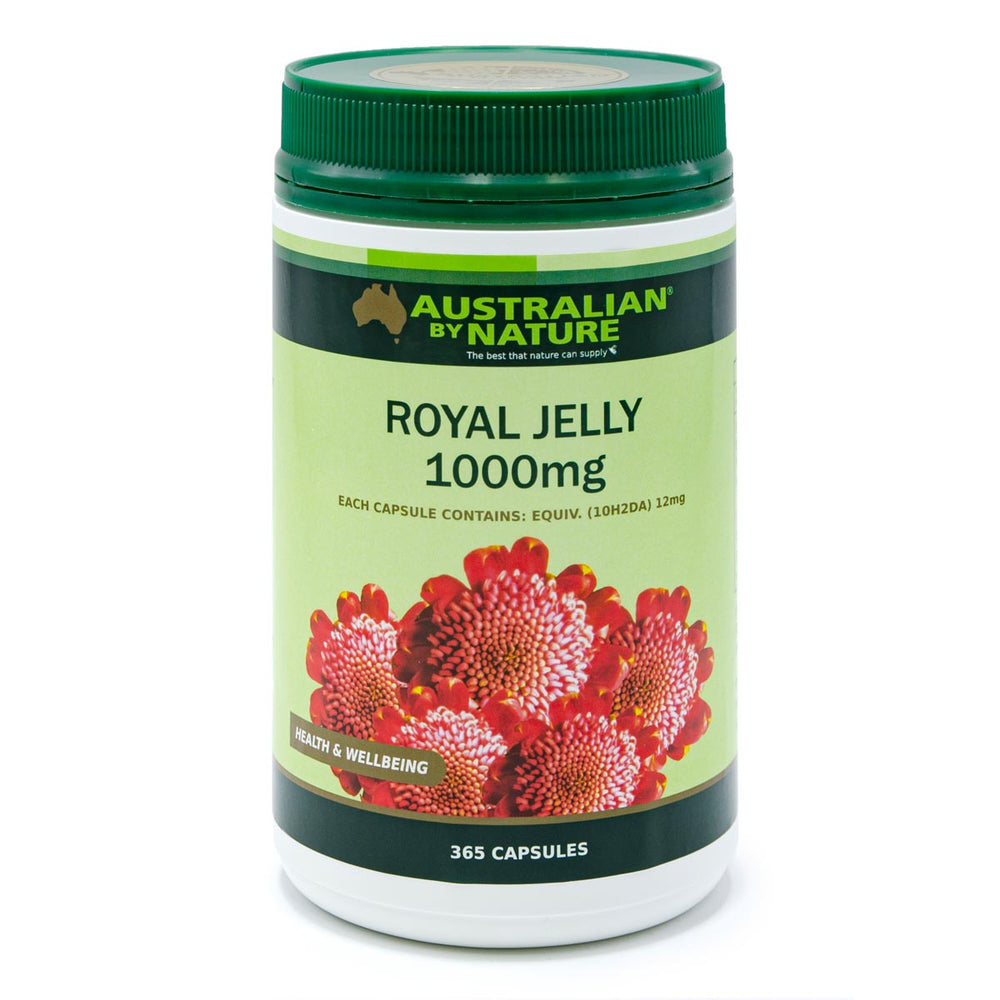 ROYAL JELLY 365 CAPSULES (1000mg) - MEDES Lifestyle®