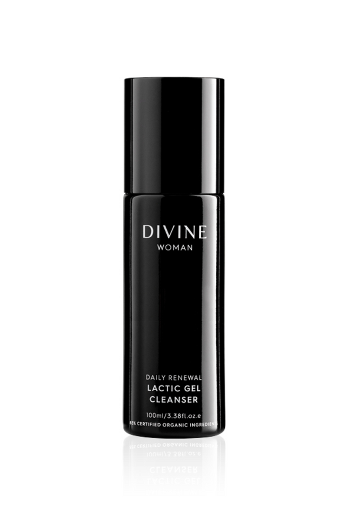 DIVINE WOMAN DAILY RENEWAL LACTIC GEL CLEANSER 100ML ~ ACO CERTIFIED ORGANIC - MEDES Lifestyle