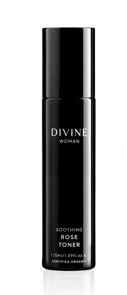 DIVINE WOMAN SOOTHING ROSE TONER 120ML ~ ACO CERTIFIED ORGANIC - MEDES Lifestyle®