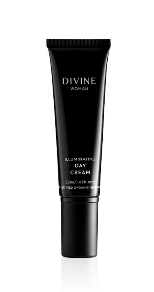 DIVINE WOMAN ILLUMINATING DAY CREAM 50ML ~ ACO CERTIFIED ORGANIC - MEDES Lifestyle®