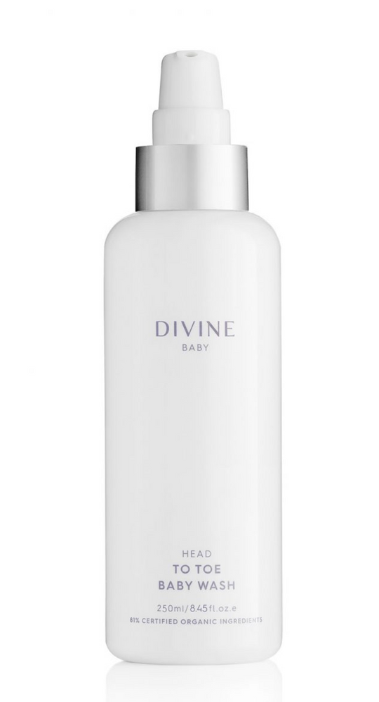 DIVINE BABY HEAD TO TOE BABY WASH 250ML - MEDES Lifestyle®