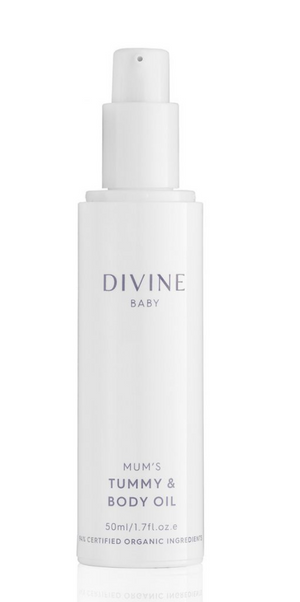 DIVINE BABY MUM'S TUMMY AND BODY OIL 50ML - MEDES Lifestyle