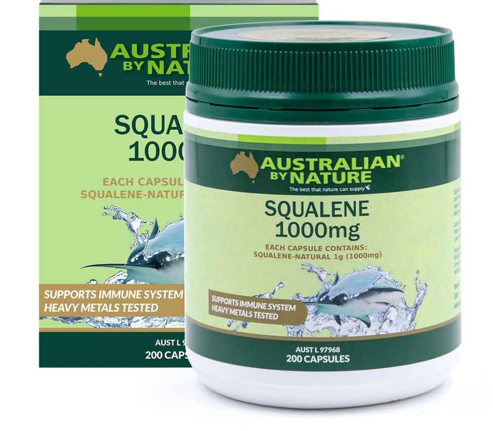 SQUALENE 200 CAPSULES (1000mg) - MEDES Lifestyle®