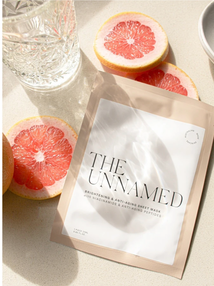 BRIGHTENING & ANTI-AGING SHEET MASK - MEDES Lifestyle
