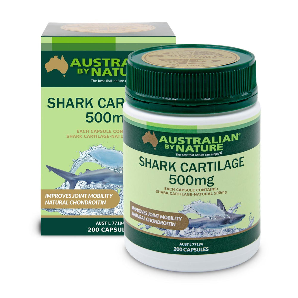 SHARK CARTILAGE 200 CAPSULES (500mg) - MEDES Lifestyle®