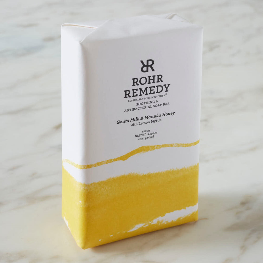 GOATS MILK AND MANUKA HONEY SOAP WITH LEMON MYRTLE - MEDES Lifestyle®