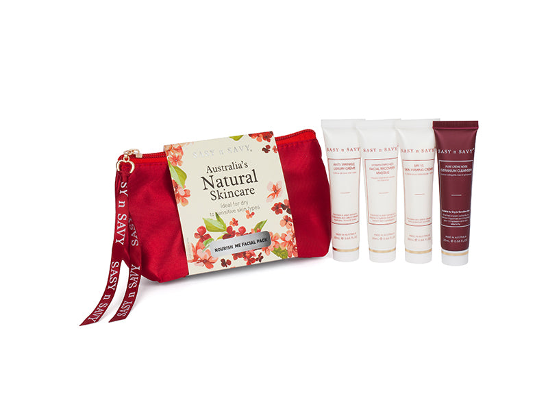 NURISH ME FACIAL PACK - DRY TO SENSITIVE SKIN - MEDES Lifestyle®
