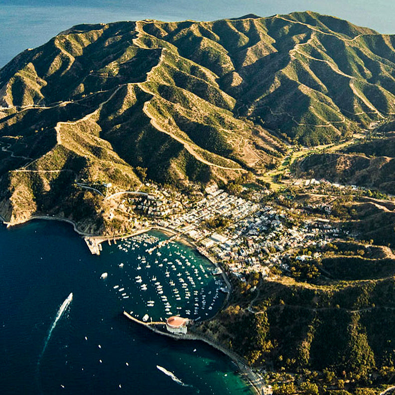 catalina island sky view avalon boating marina del rey bella los angeles