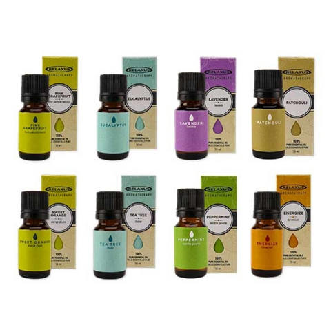 Aromatherapy - 100% Pure Essential Oils