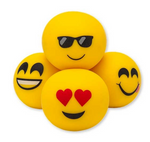 Moji Anti-Stress Balls - Set of 4