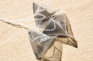 Our Bio-Degradable Tea Bags are Plant-Based (not Nylon) & Do NOT Contain Plastic