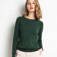 Load image into Gallery viewer, Women's Pullover O Neck Sweater