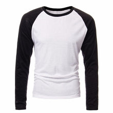 Load image into Gallery viewer, Men's Long Sleeve Round Neck Raglan T-shirt