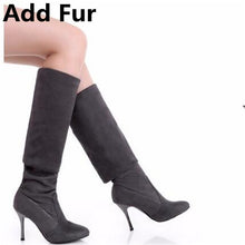 Load image into Gallery viewer, Women's Stiletto Over The Knee Thigh High Boots
