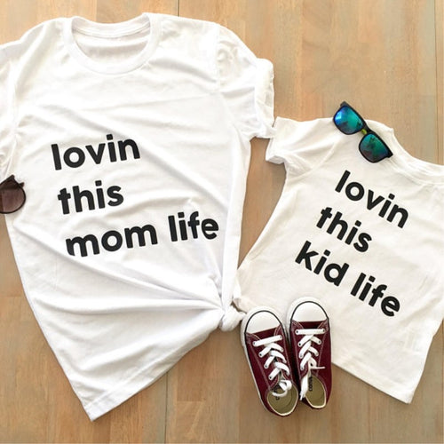 Mom And Child Matching T Shirts