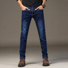 Load image into Gallery viewer, Men's Slim Fit Classic Denim Skinny Jeans