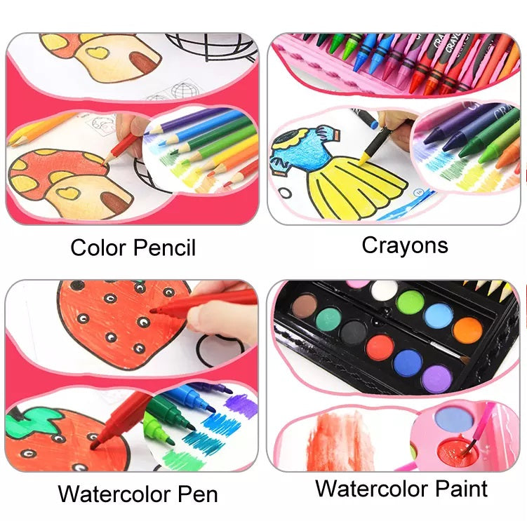 drawing, painting set