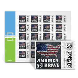 America the Brave PhotoStamps