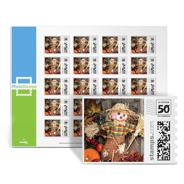 Autumn Scarecrow PhotoStamps