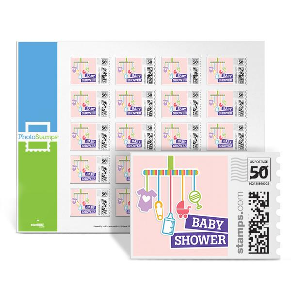 Baby Shower - Basics PhotoStamps