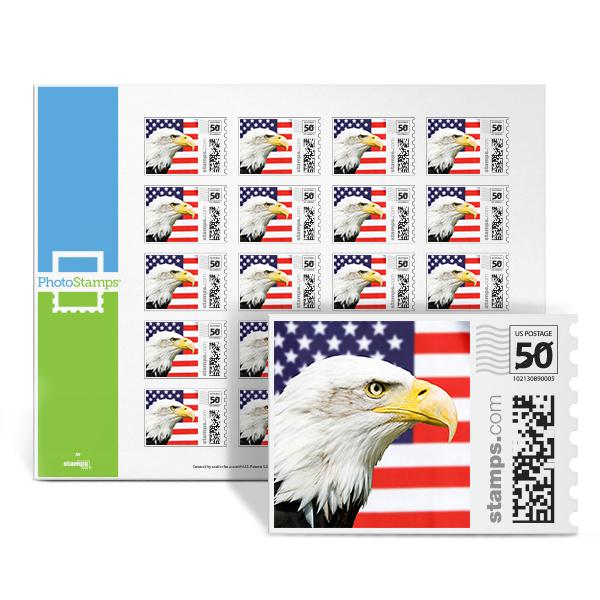 Bald Eagle PhotoStamps