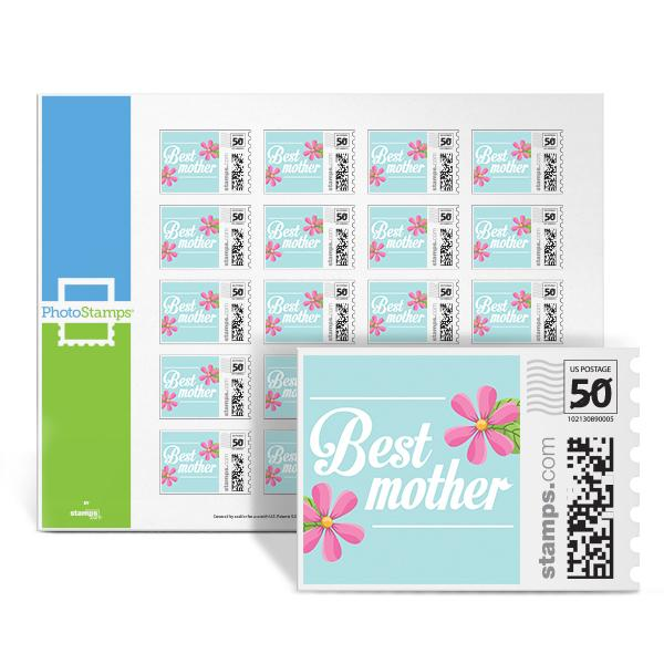 Best Mom Seal PhotoStamps
