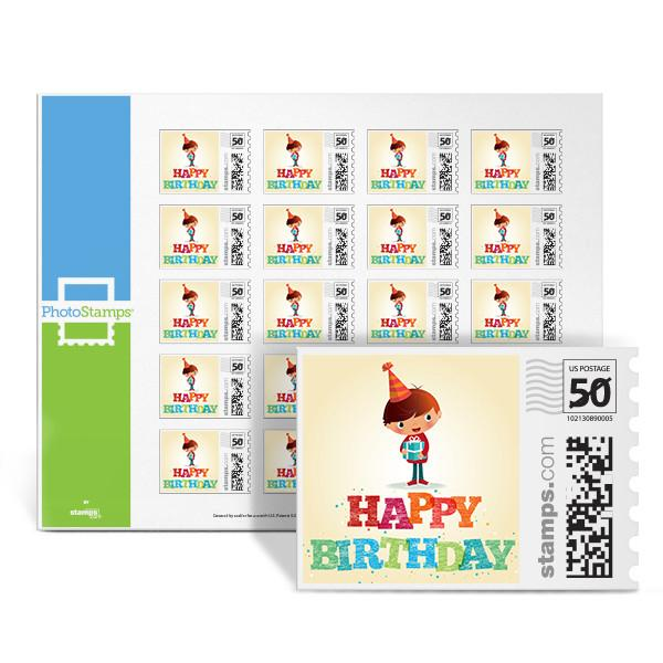 Birthday Boy PhotoStamps