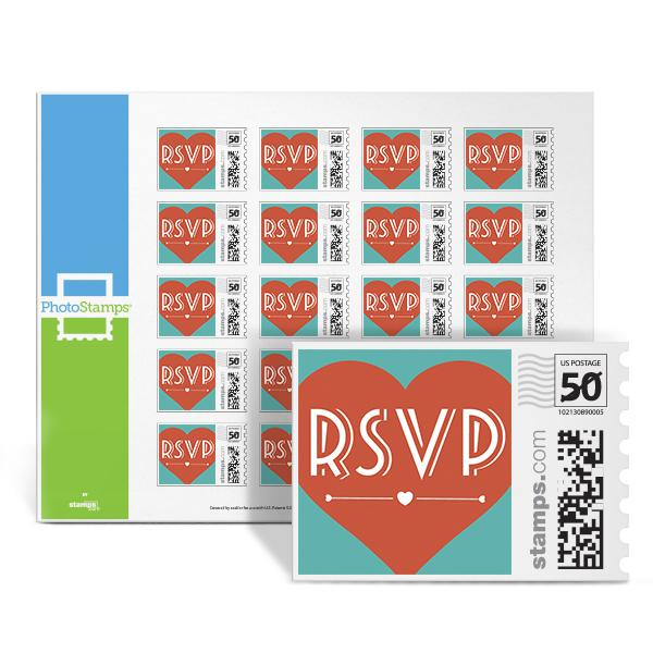 Boulevard RSVP PhotoStamps