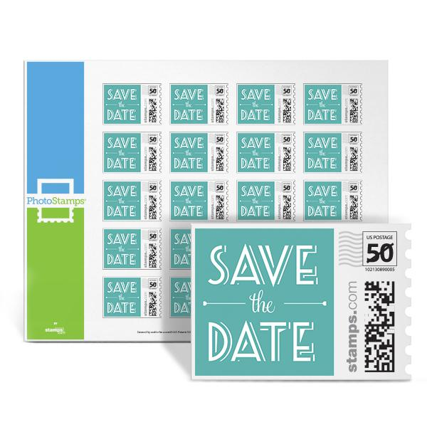 Boulevard Save the Date PhotoStamps