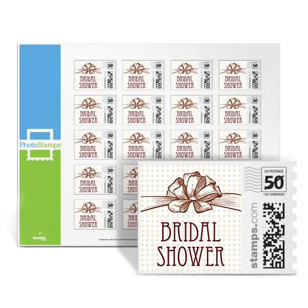Bridal Bow PhotoStamps